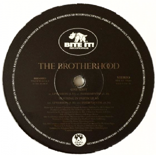 "Brotherhood (The) - One Shot/Nothing In Particular (12"") (VG+/NM)"